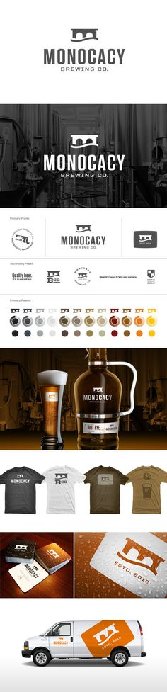 identity / Monocacy Brewing Co. Branding