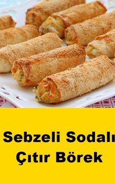 Crispy Pastry with Vegetable Soda Recipe - Vegetable Recipes Roasted Vegetable Recipes, Grilled Vegetables, Bulgogi, Vegan Blog, Soda Recipe, Recipe Recipe, Mini Sweet Peppers, Baked Carrots, Thanksgiving Side Dishes