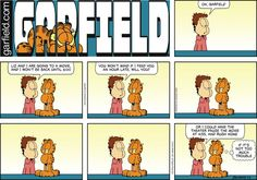 Garfield Comic Strip, July 03, 2016     on GoComics.com