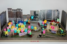 "Peep This: OccuPeep D.C. Wins Post Peep Diorama Contest.  (Still giggling over ""Power to the Peeple""!)"