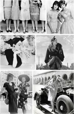 #vintage style throughout the decades