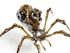 Steampunk Spider 'Victoria' by Christopher Conte - Wonderful!