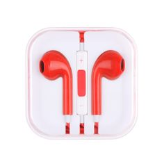 The Stereo Hands-free earbuds deliver high quality sound with a comfortable fit. Add a touch of personality with your choice of color. Each pair includes a built-in mic and remote so you are able to t