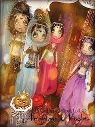 Resultado de imagem para moldes bonecas lilliput loft arabian nights