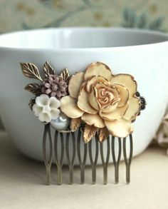 Vintage Inspired Wedding Comb