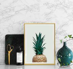 Green pineapple, poster