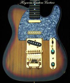 Haywire Custom Guitars-T-Custom with RosewoodNeckand Stets… | Flickr Guitar Neck, Guitar Body, Telecaster Guitar, Fender Guitars, Guitar Shop, Cool Guitar, Guitar Tips, Custom Guitars, Playing Guitar