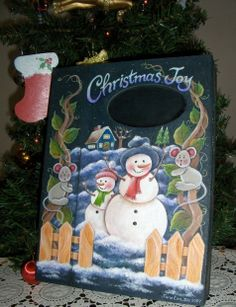 snowman tole paintings free | Tole Painting Projects http://pinterest.com/pin/148548487680882778/