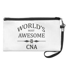 World's Most Awesome CNA Wristlet Purse