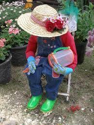 garden scarecrow lady - Google Search