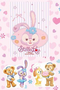 Duffy The Disney Bear, Kawaii Wallpaper, Disney Parks, Princess Peach, Bunny, Kids Rugs, Friends, Fictional Characters, Decor