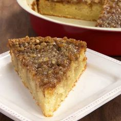 Pecan Pie Coffee Cake ~ Cooking Chef | Delicious Recipes