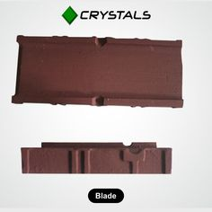 Blade Our efficient workforce & advanced technology had manufacture Shot Blasting Machine's BLADE using special Alloy Casting Composition which makes it light & Resilient with high strength-to-weight ratio.  #CrystalsGroups #Blade #machines #industries #shotblastingblade Visit - http://crystals-group.com/