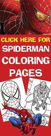 Hundreds of them - for the Spiderman fans in your house - this site also has free printable party invitations - just print and add your party details in the blanks.