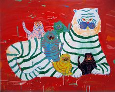 Misaki Kawai 'Tiger Family'