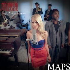 "Our ""Maps"" remake (ft. @morganajames) is currently in the top five jazz singles on iTunes! Get it now at http://msclvr.co/hAOi6o"