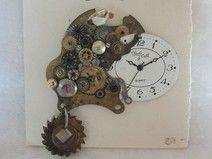 Anhänger aus alten Uhrenteilen