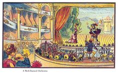The well-trained orchestra. France in the year 2000 | The Public Domain Review