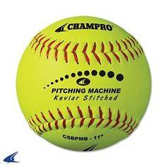 f08b198f0dd7 Champro Kevlar Stitched Softballs by the Dozen (Optic Yellow