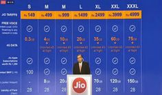 #Reliance #Jio launched 13 new #Prepaid & #Postpaid 4G Data Plans