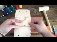 Hammered Leatherworks Saddle Stitch - The 1 needle method