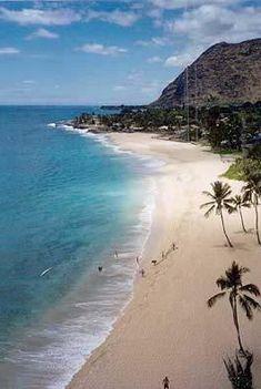 Makaha Turtle Beach, Waianae, HI 96792 One of the many, many beaches to enjoy! Lucky you visit Makaha.