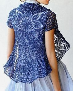 Crochet Sweater Patterns | Elegant Crochet Sweaters