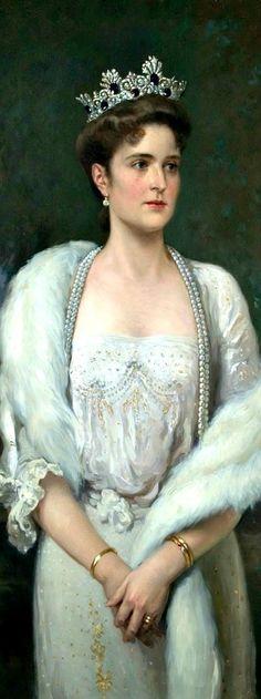 Portrait of Russian Empress Alexandra Feodorovna, by Alexander Makovsky | The House of Beccaria~