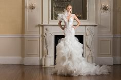 Celebrate Love With The Pnina Tornai 2017 'Dimensions' Bridal Collection - World of Bridal Beautiful Wedding Gowns, Dream Wedding Dresses, Designer Wedding Dresses, Bridal Dresses, Beautiful Dresses, Bridesmaid Dresses, Pnina Tornai, How To Dress For A Wedding, Dresses Elegant