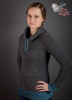 Just purchased this amazing pullover sweater pattern from KT & the Squid! Can't wait to get started on it!