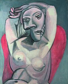Picasso infinito | Fotogalería | Cultura | EL PAÍS 'Mujer en sillón rojo', 1939.Óleo sobre lienzo, 100 x 81cm. Colección particular © SPARTE, MR. PATRICK GOETELEN / SUCESIÓN PABLO PICASSO, VEGAP, MADRID, 2014 10.