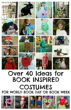 Huge list of World Book Day costume ideas