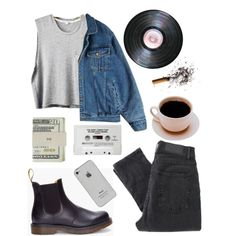 Rainy Weather by clarewigney on Polyvore featuring Sophomore, Cheap Monday, Dr. Martens and Jack Spade
