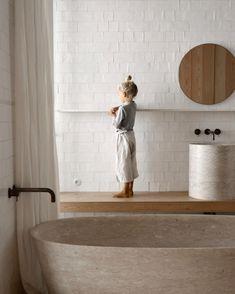 Rustic Bathroom Designs, Bathroom Interior Design, Minimalist Bathroom Design, Mediterranean Decor, Mediterranean Bathroom Design Ideas, Bathroom Inspiration, Bathroom Inspo, Interior Architecture, Farmhouse Architecture