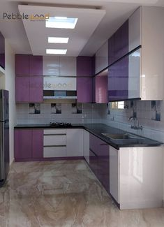 Mr Mahesh Ashwath: modern Kitchen by Pebblewood. Kitchen Cupboard Colours, Kitchen Cupboard Designs, Kitchen Room Design, Home Room Design, Modern Kitchen Design, Interior Design Kitchen, Kitchen Modular, Open Kitchen, Home And Deco