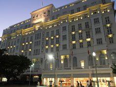 #Copacabana Palace #Hotel, in #RiodeJaneiro.