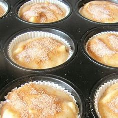 de The post Quick cinnamon muffins Jumbo Blueberry Muffin Recipe, Homemade Blueberry Muffins, Simple Muffin Recipe, Easy Cookie Recipes, Healthy Dessert Recipes, Cake Recipes, Muffins Sains, Cinnamon Muffins, Healthy Muffins
