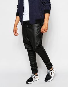 ASOS Drop Crotch Joggers With Double Layer $37.50