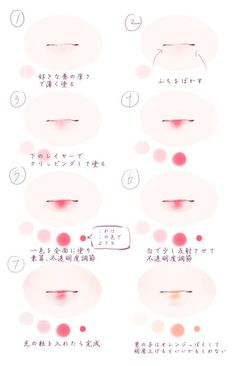 [pixiv] Tutorials on lips! - pixiv Spotlight