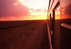 Resa längs Transsibiriska järnvägen