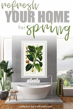 Hello, Spring! Refresh your home for Spring with 100+ FREE PRINTABLE WALL ART. One of the quickest ways to add style and new décor to any interior is to decorate with free wall art printables that you can download and print yourself. Choose wall art that fits your decor and refresh your home quickly and on budget. We have a collection of 100+ free printables from our favorite bloggers and designers. #freeprintables #DIYhomedecor #springwallart