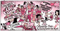 BREAST CANCER AWARNESS MONTH CARTOONS | Original artwork ©2010 Dan Piraro. For full list of copyright ...