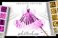 Glittery Styles: Creative Couture PS by Creators Couture on Creative Market