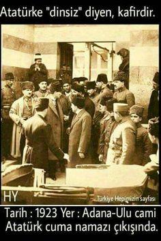 Yine en büyük yine eşsiz ve yine benzersiz Atatürk ❤