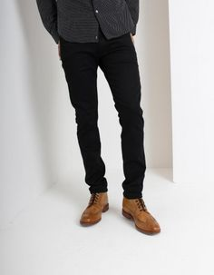 Shop Replay at Accent Clothing, luxury stockists of Replay since Spend over for FREE UK Delivery. Black Coated Jeans, Black Jeans, Replay, Denim, Pants, Shopping, Clothes, Fashion, Trouser Pants