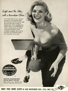 This ad is for....Shoe Polish.  Wow.    #advertising