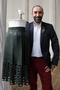 Lebanese Couturier Rabih Kayrouz Takes Home French Honor