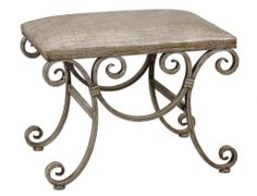 Beige Crocodile Embossed Bench | Dulles Electric Supply Corp.
