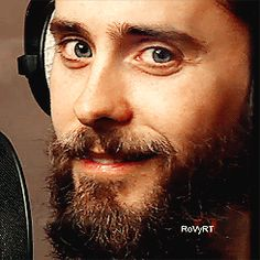 Jared Leto - overwhelming cuteness GIF
