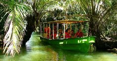 Yo puse a recorrer panamá en el barco del canal